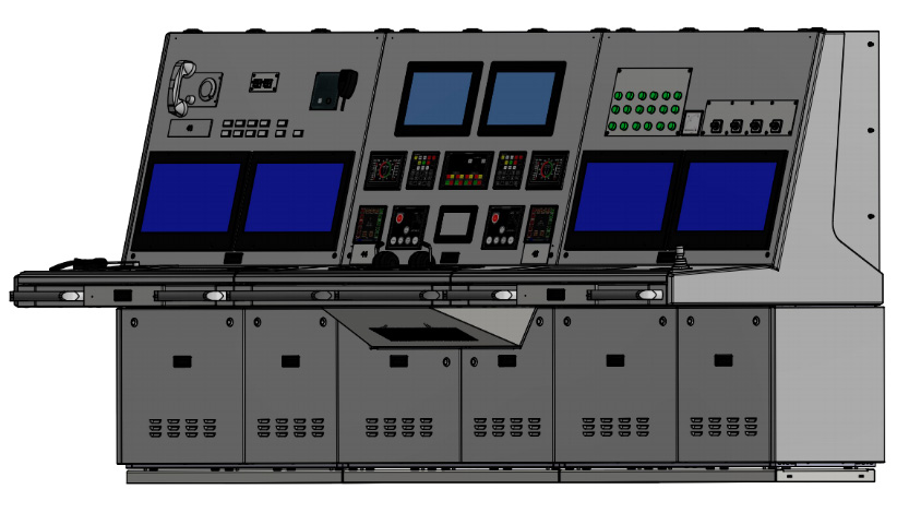Engine room consoles